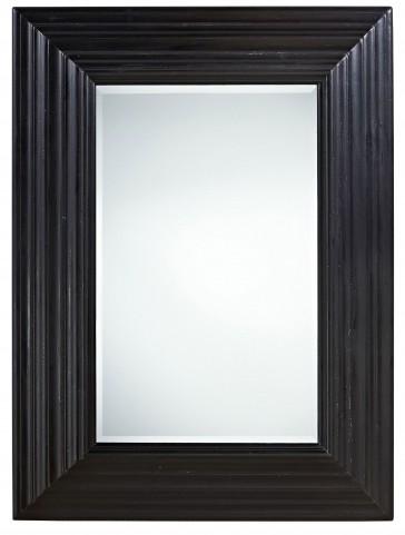 Curated Authenticity Black Portrait Mirror