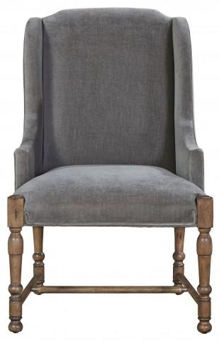 Authenticity Khaki Brussels Host Arm Chair