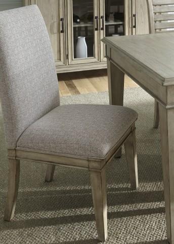 Grayton Grove Driftwood Upholstered Side Chair Set of 2