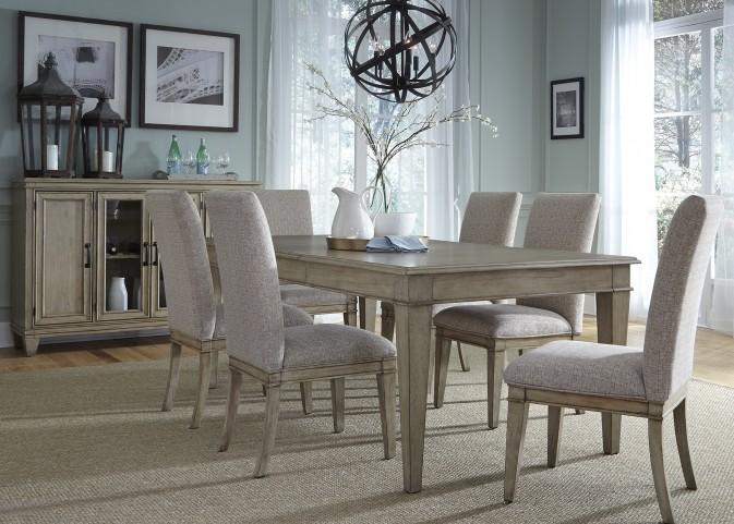 Grayton Grove Driftwood Extendable Dining Room Set