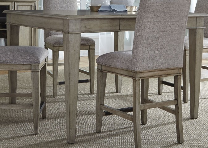 Grayton Grove Driftwood Extendable Counter Height Dining Table