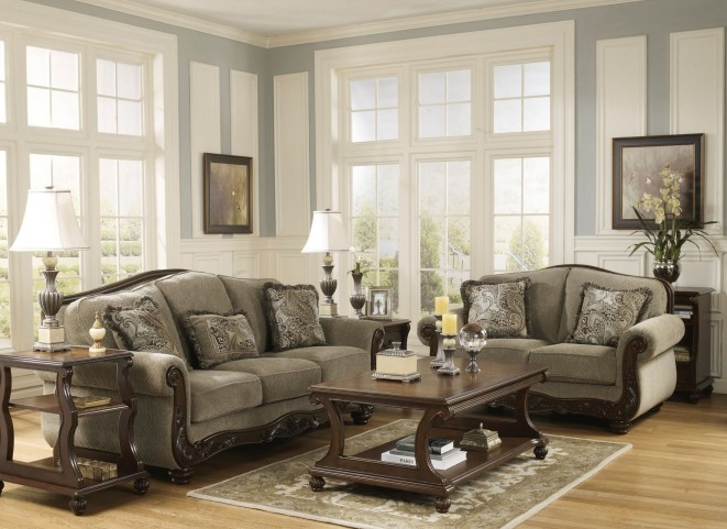 Martinsburg meadow living room set from ashley 57300 for Living room furniture nairobi