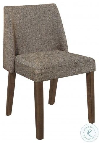 Leland Brown Side Chair Set Of 2