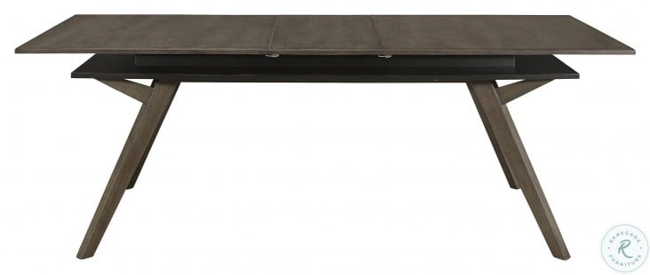 Mezzanine Dark Gray Extendable Dining Table