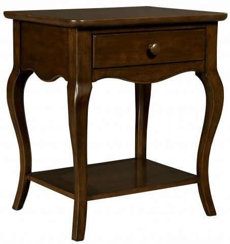 Teaberry Lane Midnight Cherry Bedside Table