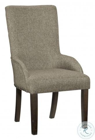 Gloversville Gray Arm Chair Set Of 2