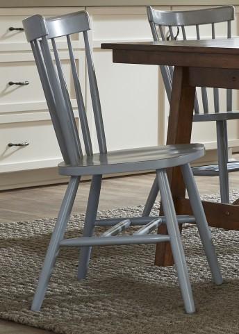 Creations II Blue Copenhagen Side Chair Set of 2