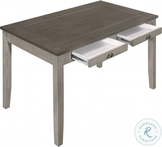 Brightleaf Brown And Light Gray Counter Height Dining Table