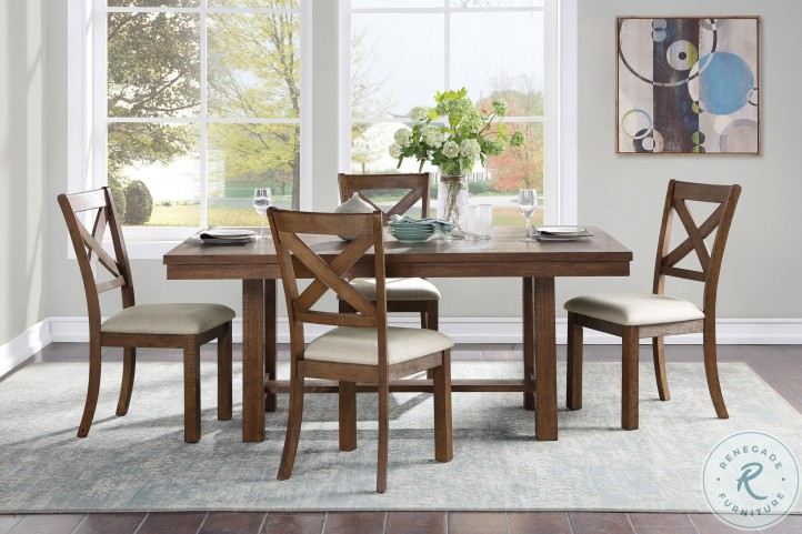 Bonner Brown Dining Table