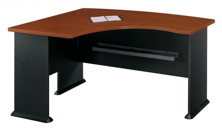 Series A Hansen Cherry 60 Inch LH L-Bow Desk