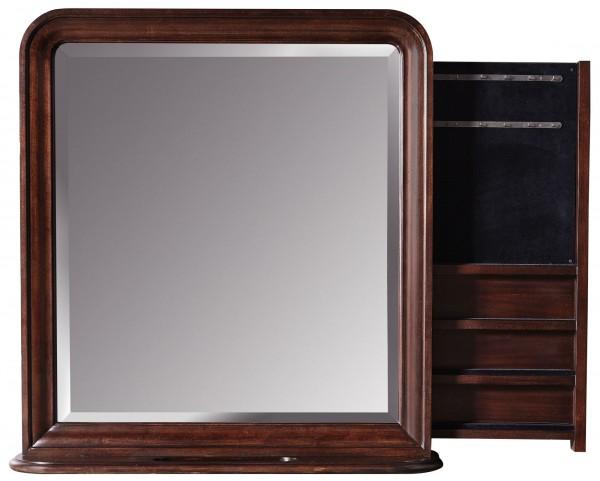 Reprise Classical Cherry Storage Mirror