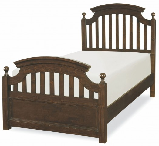 Academy Molasses Twin Panel Bed