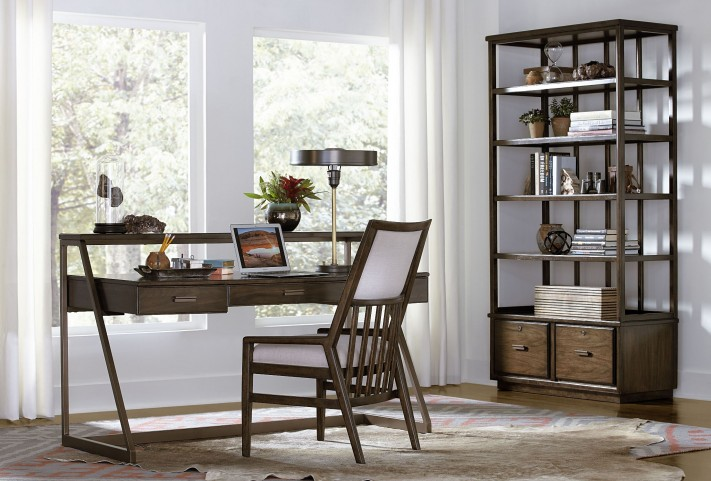 Santa Clara Burnished Walnut Home Office Set