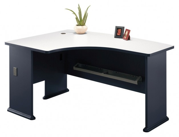 Series A Slate 60 Inch LH L-Bow Desk