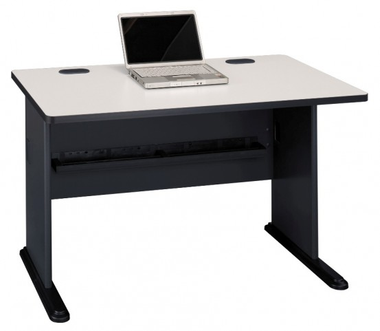Phenomenal Series A Slate 48 Inch Desk Beutiful Home Inspiration Semekurdistantinfo