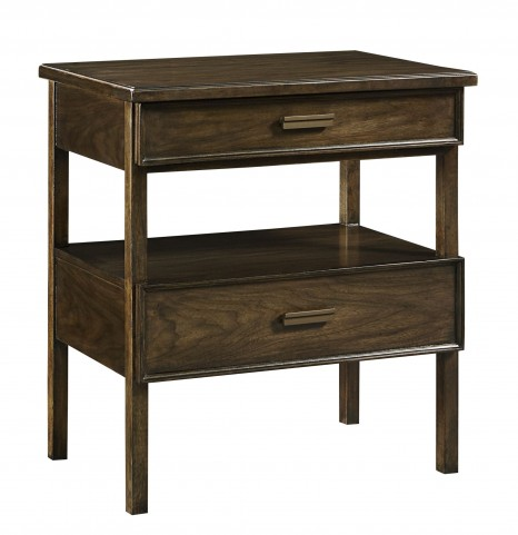 Santa Clara Burnished Walnut Nightstand