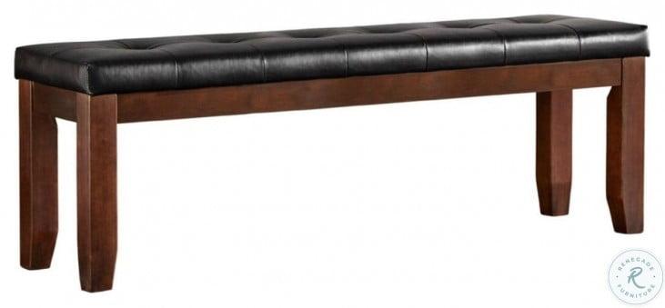 """Ameillia Dark Oak 60"""" Bench"""