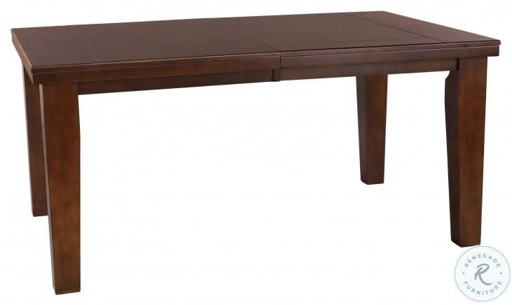 Ameillia Dark Oak Extendable Dining Table