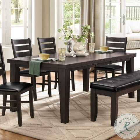 Ameillia Gray Extendable Dining Room Set