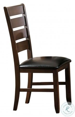 Ameillia Dark Oak Side Chair Set of 2