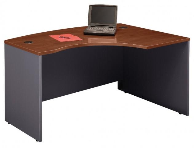 Series C Hansen Cherry 60 Inch RH L-Bow Desk Shell