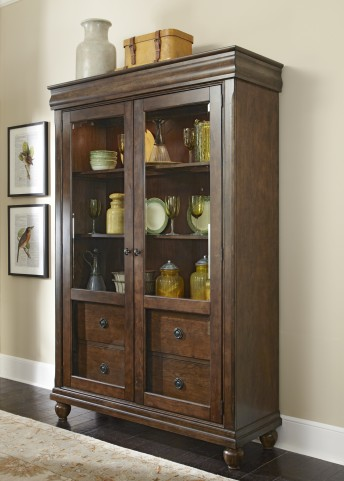 Rustic Tradition Display Cabinet