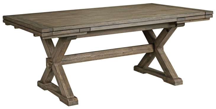 Foundry Extendable Saw Buck Dining Table