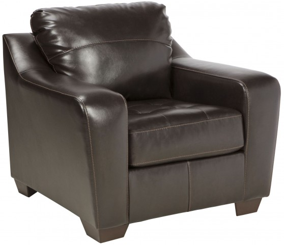 Coppell DuraBlend Chocolate Chair