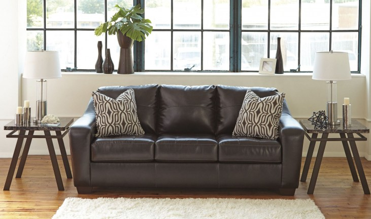 Coppell DuraBlend Chocolate Sofa