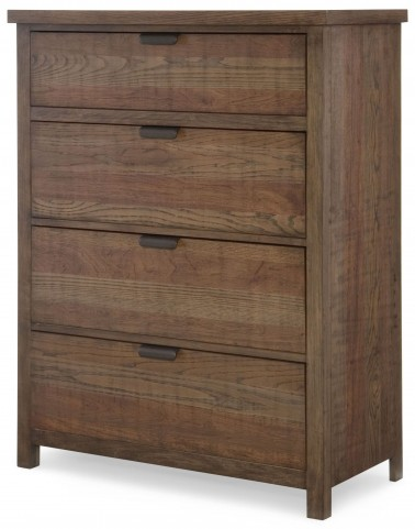 Fulton County Tawny Brown Drawer Chest