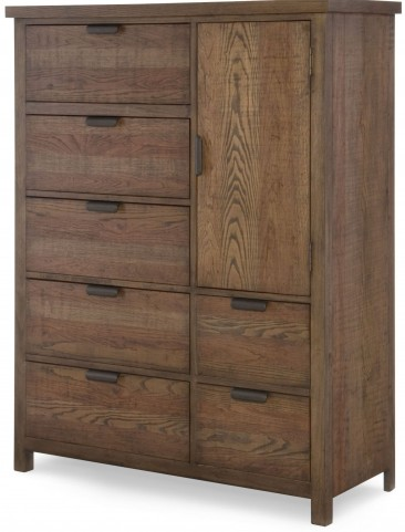 Fulton County Tawny Brown Door Chest