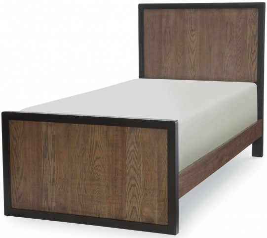 Fulton County Tawny Brown Twin Panel Bed