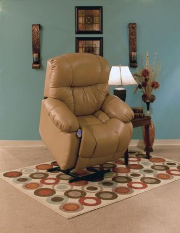 5900 Series Wall-a-Way Reclining Lift Chair Buffalino Straw Finish