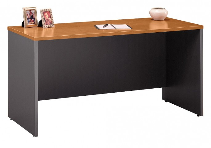 Series C Natural Cherry 60 Inch Credenza Shell
