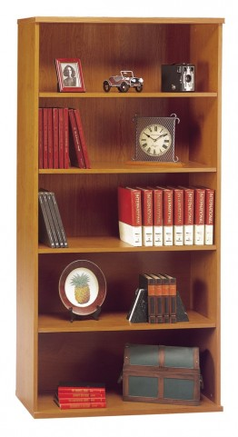 Series C Natural Cherry 36 Inch 5-Shelf Bookcase