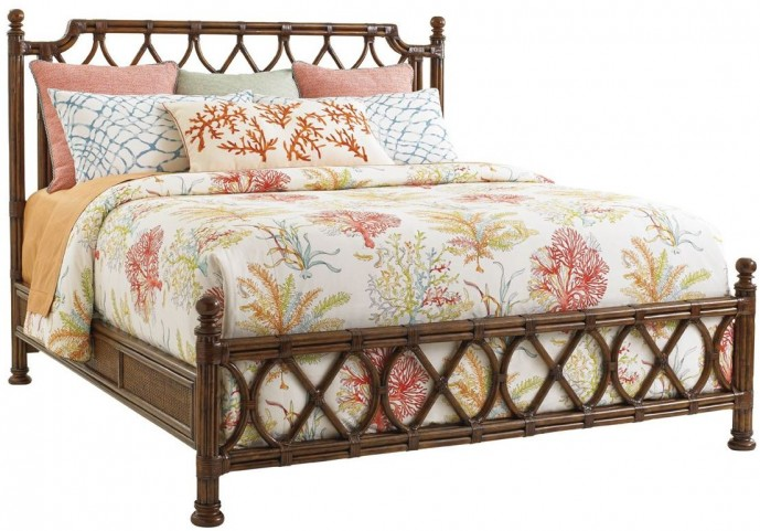 Bali Hai Island Breeze King Panel Bed