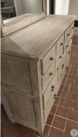 Myra Natural 9 Drawer Dresser