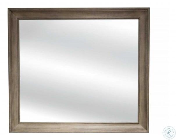 Myra Natural Shadowbox Mirror