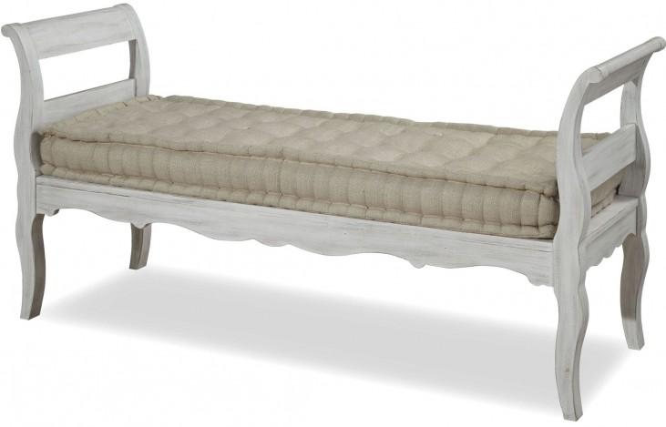 Dogwood Blossom Bed End Bench