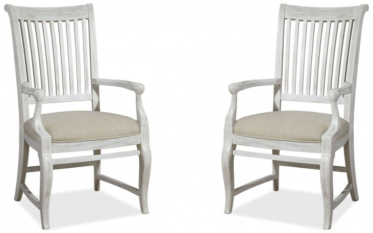 Dogwood Blossom Arm Chair Set of 2