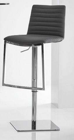 London Black Adjustable Barstool