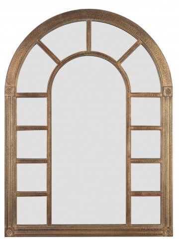 Cathedral Bronze Wall Mirror