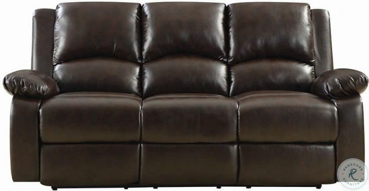 Boston Brown Reclining Sofa