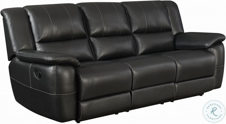 Lee Black Reclining Living Room Set