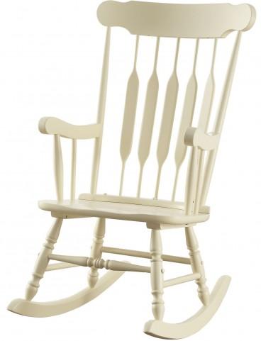 Yellow Rocker Chair