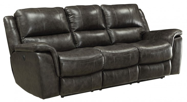 Wingfield Charcoal Power Reclining Sofa