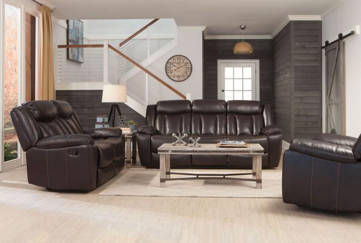 Bevington Chocolate Reclining Living Room Set