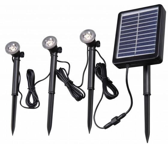 Solar Spotlight 3 Light String