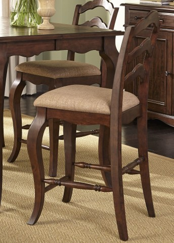 Woodland Creek Ladder Back Counter Chair