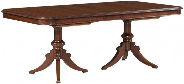 Hadleigh Hadleigh Double Pedestal Extendable Dining Table